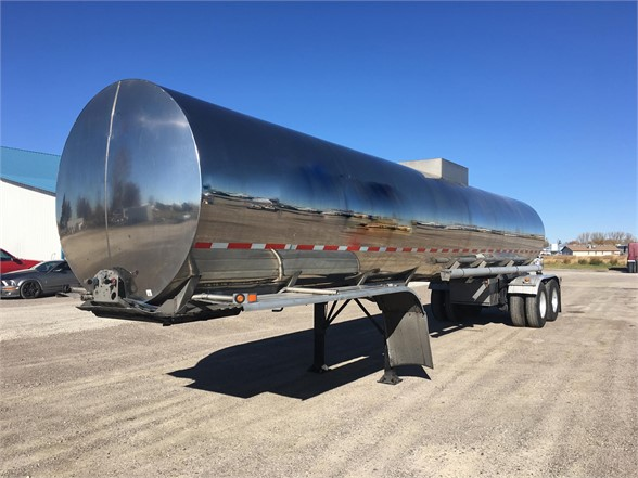 USED 2014 WESTMARK 7500 GAL/AIR-RIDE/CLEAN!! SANITARY TANKER TRAILER #1073