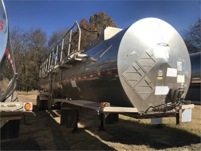 USED 2001 POLAR 7200 GAL 3 COMP DOT 407 **IN TEST** CHEMICAL - ACID TANKER TRAILER #1101-1