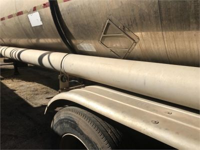 USED 2001 POLAR 7200 GAL 3 COMP DOT 407 **IN TEST** CHEMICAL - ACID TANKER TRAILER #1101-33
