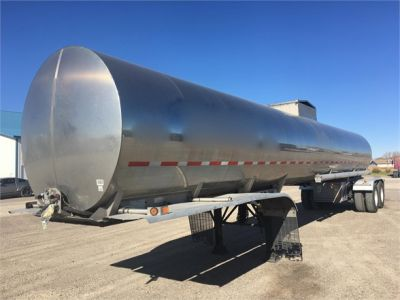 USED 2014 WESTMARK 7000 GAL/AIR-RIDE/CLEAN!! SANITARY TANKER TRAILER #1124-1
