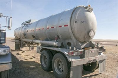 USED 2015 HEIL 8400 GAL DOT 407 4-INCH ROPER PUMP FULLY LOADED **IN TEST** OIL TANKER TRAILER #1207-4