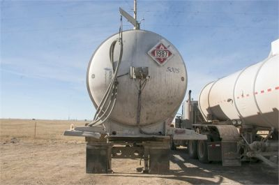 USED 2015 HEIL 8400 GAL DOT 407 4-INCH ROPER PUMP FULLY LOADED **IN TEST** OIL TANKER TRAILER #1207-5
