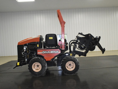 USED 2008 DITCH WITCH 420SX WALK-BESIDE TRENCHER - VIBRATORY PLOW EQUIPMENT #2962-1