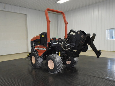 USED 2008 DITCH WITCH 420SX WALK-BESIDE TRENCHER - VIBRATORY PLOW EQUIPMENT #2962-3