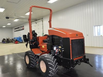 USED 2008 DITCH WITCH 420SX WALK-BESIDE TRENCHER - VIBRATORY PLOW EQUIPMENT #2962-5