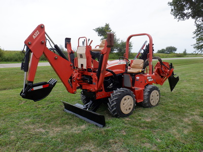 USED 2008 DITCH WITCH RT40 RIDE-ON TRENCHER - VIBRATORY PLOW EQUIPMENT #2981-2