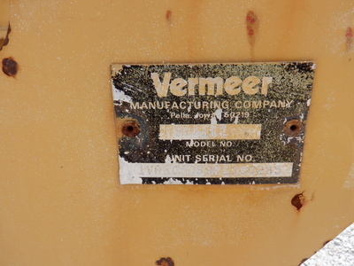 USED1994VERMEERSO4147TRENCHER #3001-3