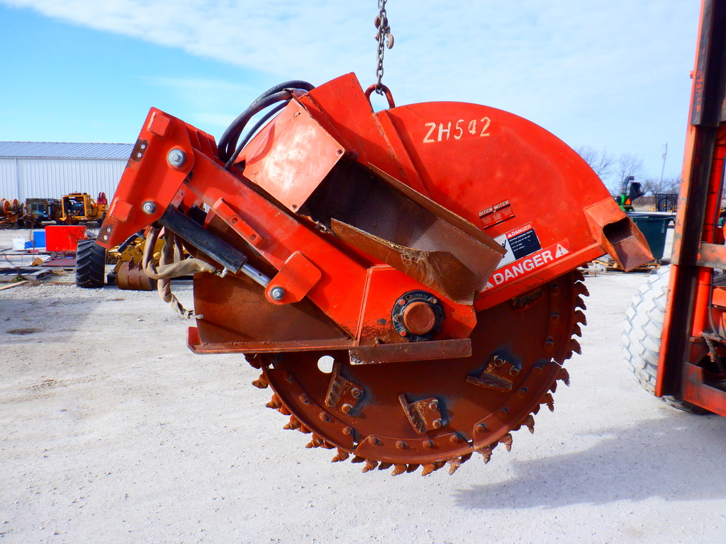 USED2004DITCHWITCHZH542TRENCHER #3150