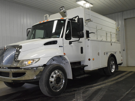 USED 2012 INTERNATIONAL 4300 SERVICE TRUCK EQUIPMENT #3216-2