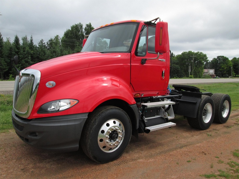 USED 2010 INTERNATIONAL PROSTAR PREMIUM TANDEM AXLE DAYCAB TRUCK #1030