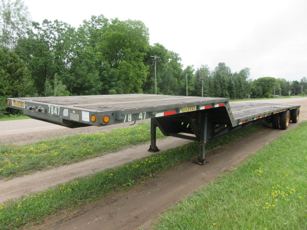 USED 2003 XL SPECIALIZED XL 70LSD DROP DECK TRAILER #1088