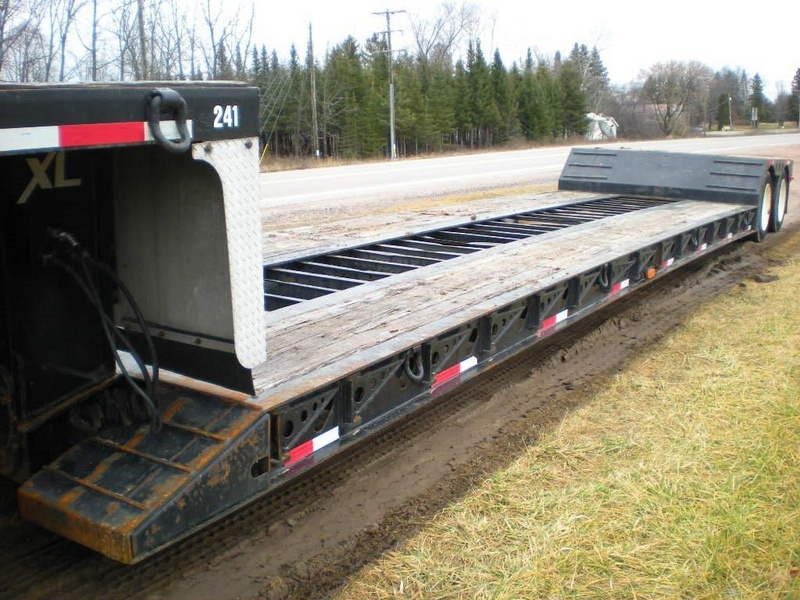 USED 2005 XL SPECIALIZED XL 60 MFG LOWBOY TRAILER #1127