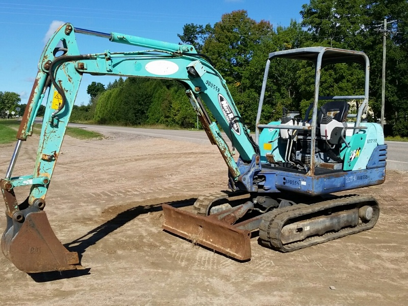 USED IHI 35N MINI EXCAVATOR EQUIPMENT #1216