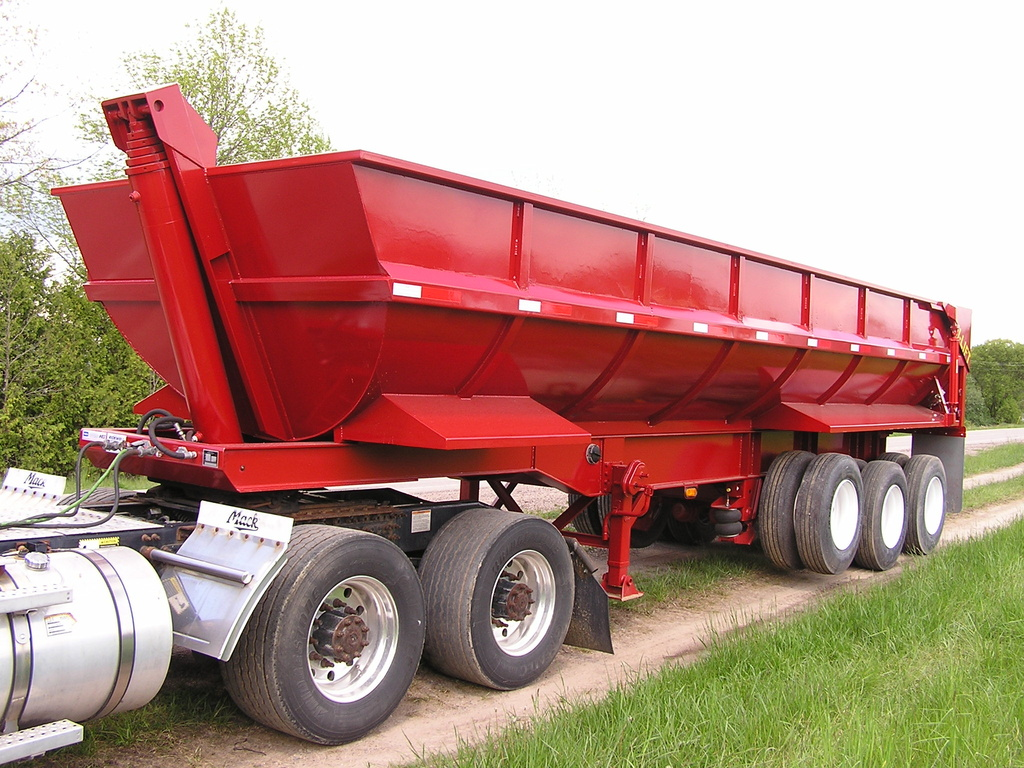 USED 2017 NORTHERN END DUMP END DUMP TRAILER #1689