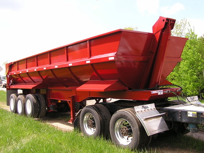 USED 2017 NORTHERN END DUMP END DUMP TRAILER #1689-2