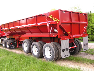 USED 2017 NORTHERN END DUMP END DUMP TRAILER #1689-6