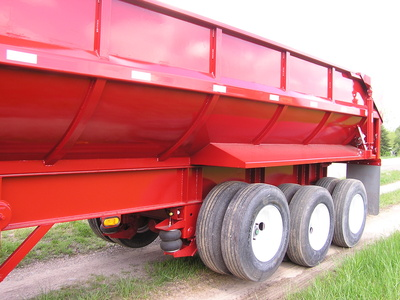 USED 2017 NORTHERN END DUMP END DUMP TRAILER #1689-9