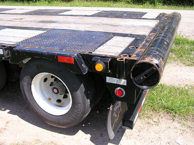USED 2014 MANAC 14453A040 DROP DECK TRAILER #1700-15