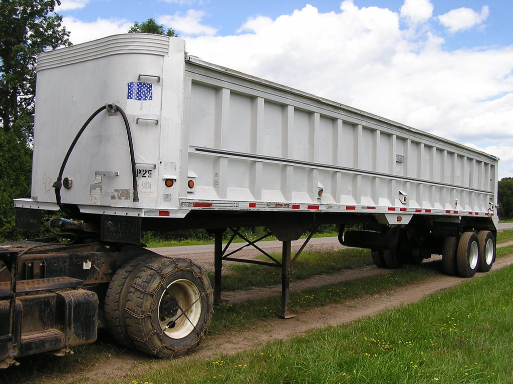 USED 1989 TI-BROOK 38X96 END DUMP TRAILER #1777