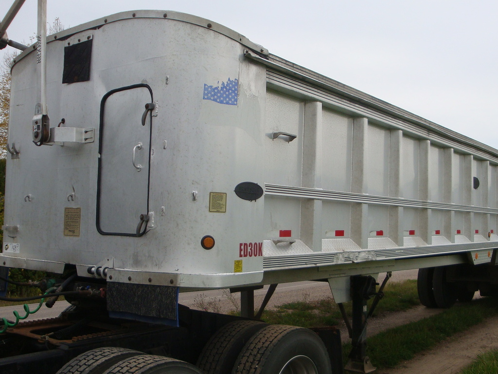 USED 2000 TRAILSTAR END DUMP TRAILER #1811