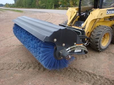 USED 2013 BOBCAT 84 ANGLE BROOM SWEEPER EQUIPMENT #1818-1