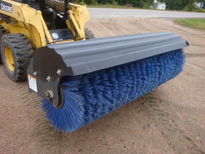USED 2013 BOBCAT 84 ANGLE BROOM SWEEPER EQUIPMENT #1818-2
