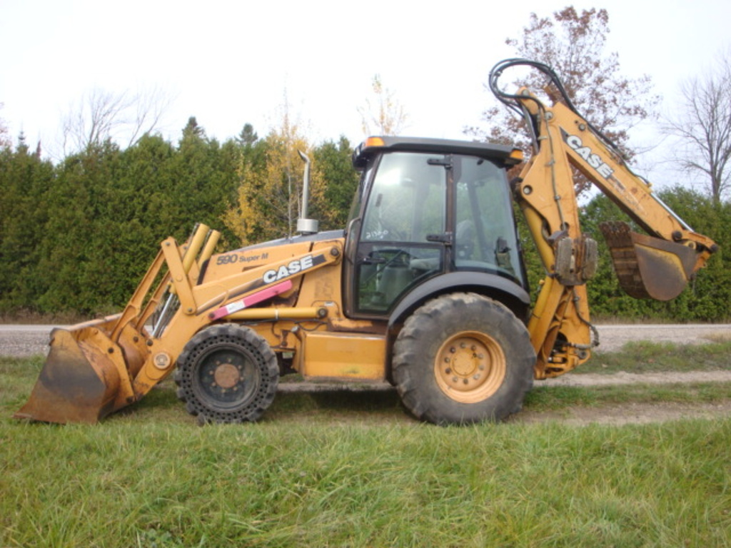 Used 2002 Case 590 Super M For Sale 1852