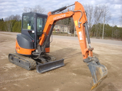 USED 2012 HITACHI ZX29U-3CLR MINI EXCAVATOR EQUIPMENT #1874-2