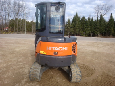 USED 2012 HITACHI ZX29U-3CLR MINI EXCAVATOR EQUIPMENT #1874-5