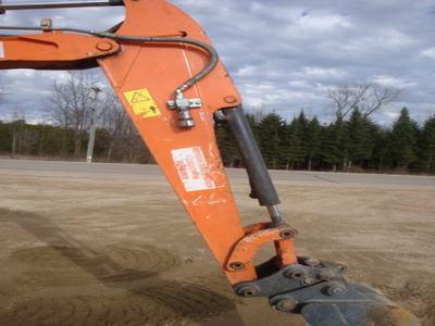 USED 2012 HITACHI ZX29U-3CLR MINI EXCAVATOR EQUIPMENT #1874-6