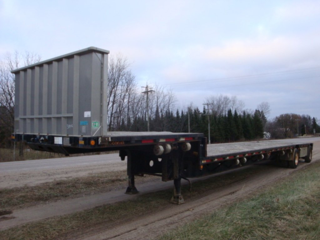 USED 1997 DOONAN 502DB14 DROP DECK TRAILER #1879