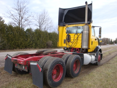 USED 2012 INTERNATIONAL 8600 SBA TANDEM AXLE DAYCAB TRUCK #1880-4