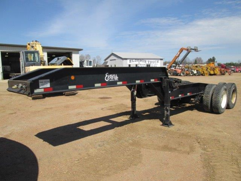 USED 0 EVENS LOWBOY TRAILER #1958