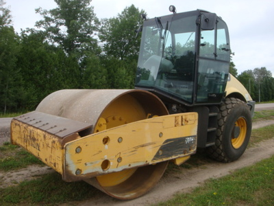 USED 2012 VOLVO SD116DX DRUM / ROLLER COMPACTOR EQUIPMENT #2116-1