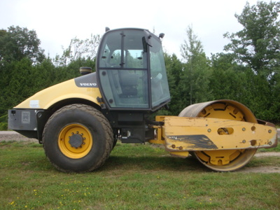 USED 2012 VOLVO SD116DX DRUM / ROLLER COMPACTOR EQUIPMENT #2116-3