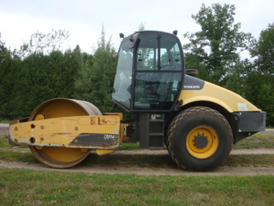 USED 2012 VOLVO SD116DX DRUM / ROLLER COMPACTOR EQUIPMENT #2116-4