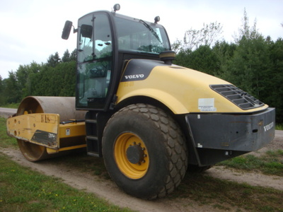 USED 2012 VOLVO SD116DX DRUM / ROLLER COMPACTOR EQUIPMENT #2116-5