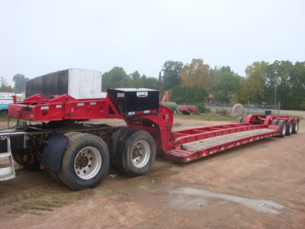 USED 2014 FONTAINE MAGNITUDE 55H MDSR LOWBOY TRAILER #2386