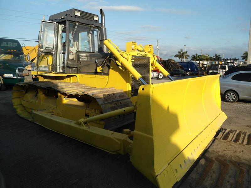 USED 1990 KOMATSU D83P CRAWLER DOZER EQUIPMENT #48046