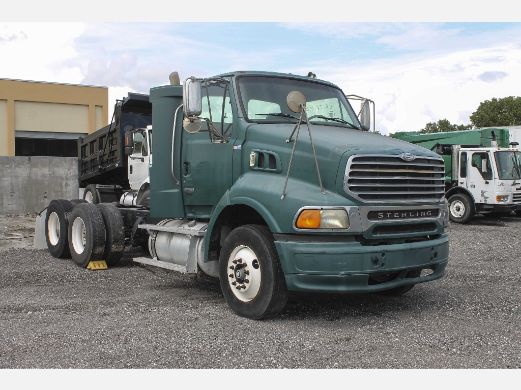 USED 2007 STERLING A9513 SINGLE AXLE DAYCAB TRUCK #1654