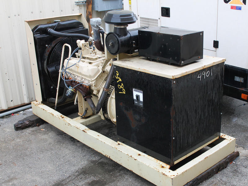 USED 1999 KOHLER 80KW GENERATOR EQUIPMENT #48035