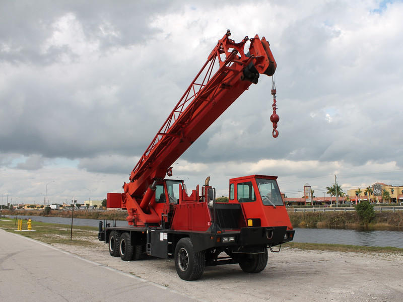 USED 1990 LORAIN MCH-275-D ALL TERRAIN CRANE EQUIPMENT #47124