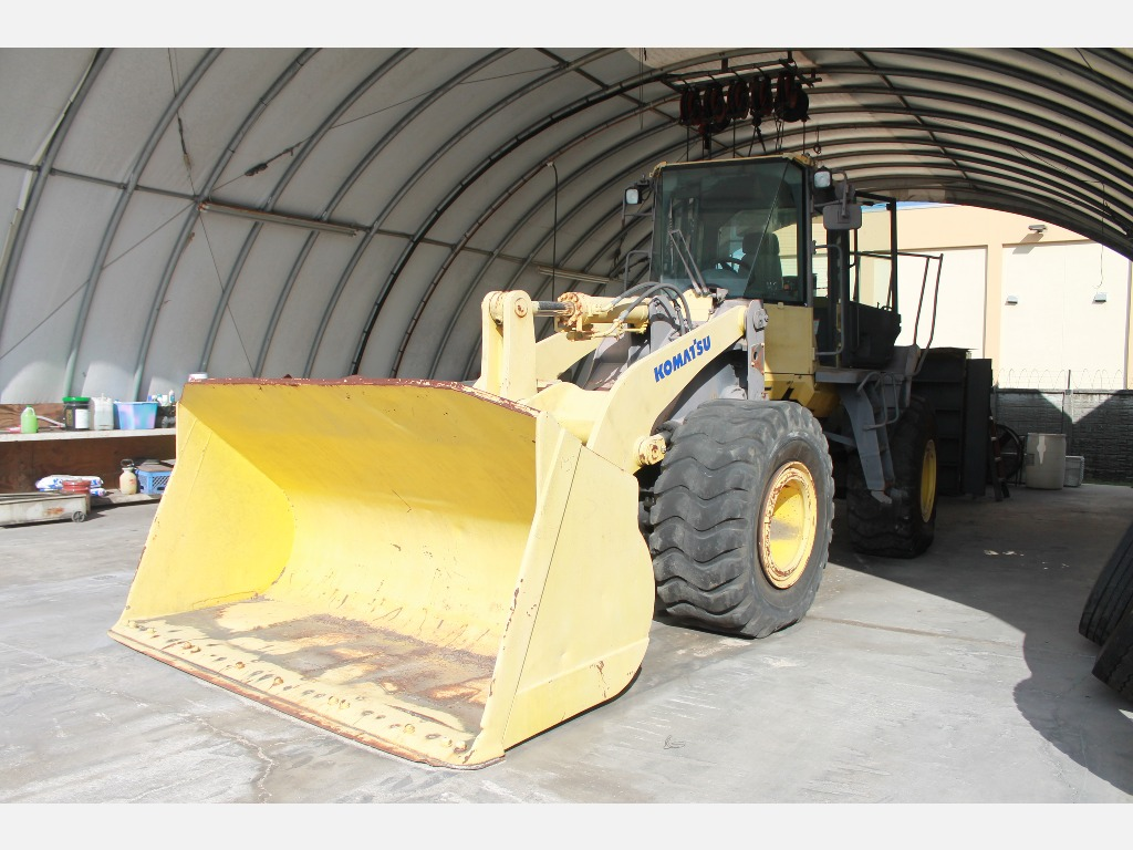 USED 2006 KOMATSU WA-380-6 WHEEL LOADER EQUIPMENT #47069