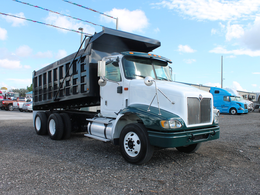 USED 2007 INTERNATIONAL 9200I T/A STEEL DUMP TRUCK #46983