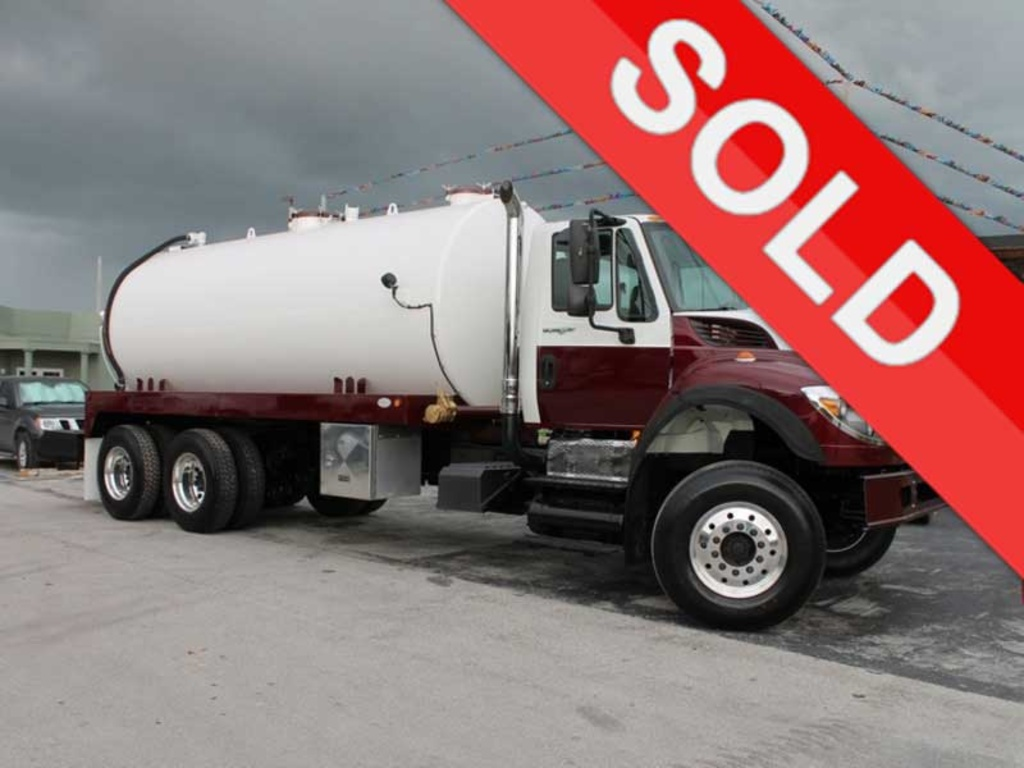 USED 2008 INTERNATIONAL WORK STAR 7600 SEPTIC TANK TRUCK #2541
