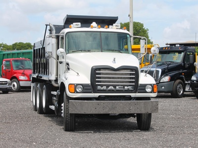 USED 2006 MACK GRANITE TRI-AXLE STEEL DUMP TRUCK #2551-2