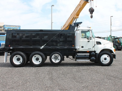 USED 2006 MACK GRANITE TRI-AXLE STEEL DUMP TRUCK #2551-3