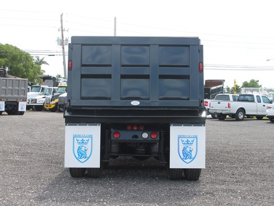 USED 2006 MACK GRANITE TRI-AXLE STEEL DUMP TRUCK #2551-5