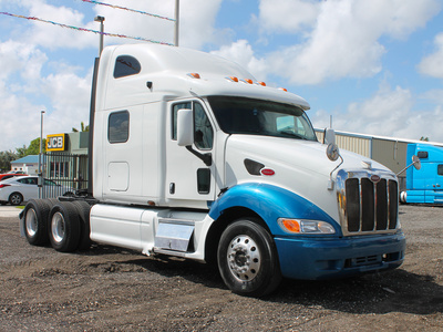 USED 2005 PETERBILT 387 TANDEM AXLE SLEEPER TRUCK #2566-1