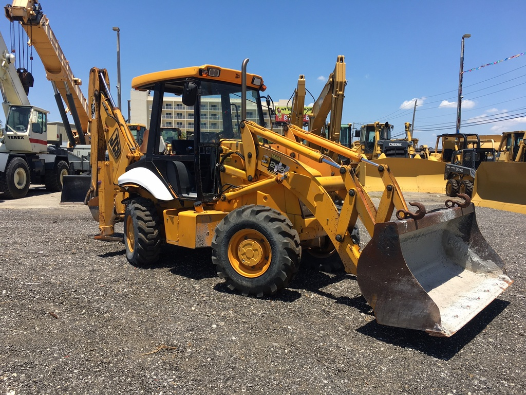 USED 2003 JCB 212 BACKHOE LOADER EQUIPMENT #82154